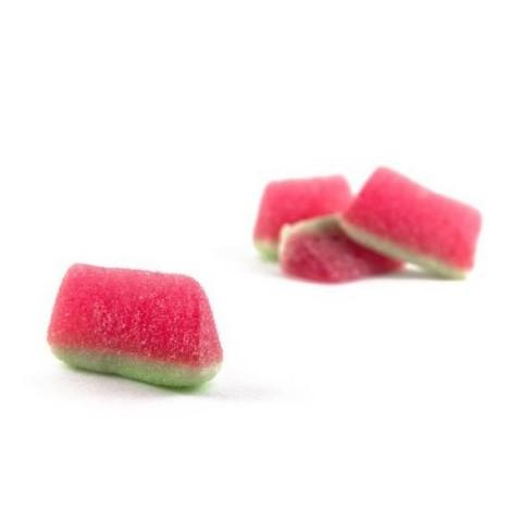 Caramelos de goma Ceconsa Tajadas sandía pica bolsa 250 unid.