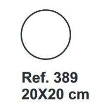 Corcho Circulo 20cm