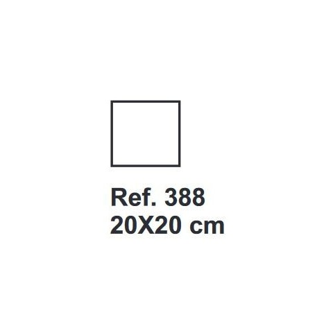 Corcho Cuadrado 20cm