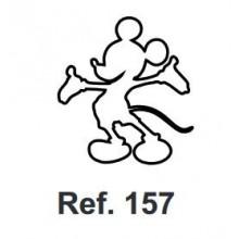Corcho Figura Mickey Mouse