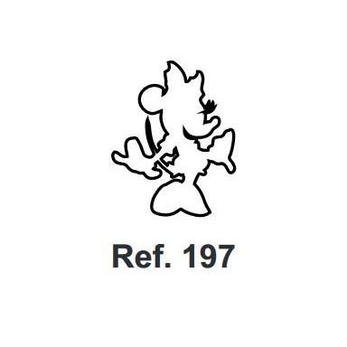 Corcho Figura Minnie Mouse