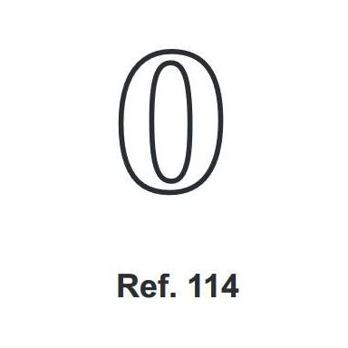 Corcho Número 0 10cm.
