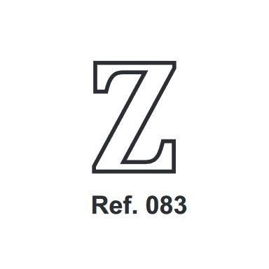 Corcho Letra Z 10cm.