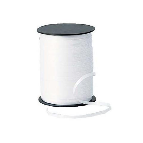 Rollo cinta para lazos Blanco 500m. 1u.