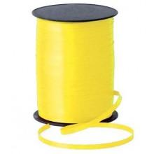 Rollo cinta para lazos Amarillo 500m. 1u.