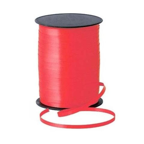 Rollo cinta para lazos Rojo 500m. 1u.