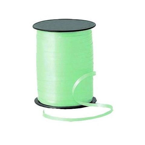 Rollo cinta para lazos Verde 500m. 1u.