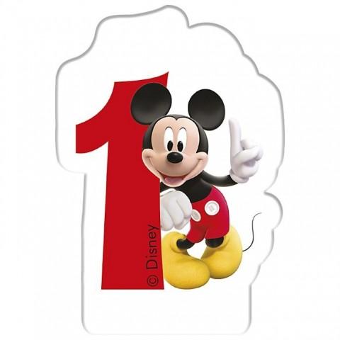 Vela Mickey Nº 1.