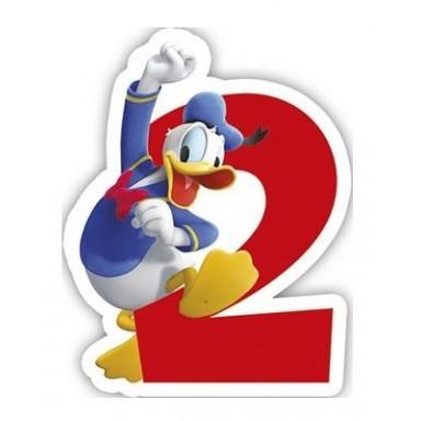 Vela Mickey  Nº 2.