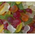 Caramelos de goma Frutas brillo sin azúcar Roypas 1kg.