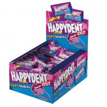 Chicles Happydent Pinta lenguas Sin Azúcar 200u.