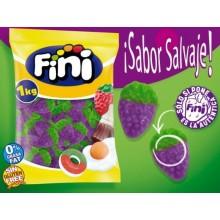 Caramelos de goma Fini Fresas Moradas Salvajes brillo 1kg.