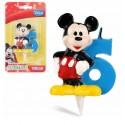 Vela Mickey Nº 6.