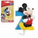 Vela Mickey  Nº 7.