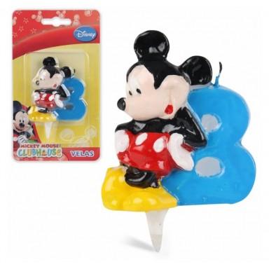 Vela Mickey  Nº 8