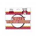 Guirnalda Feliz Cumpleaños  Minnie Mouse 3m.