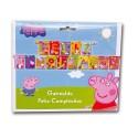 Guirnalda Feliz cumpleaños Peppa Pig