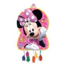 Piñata Grande Minnie Lunares