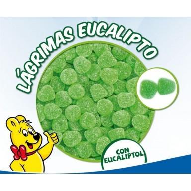 Caramelos de goma Haribo lagrimas eucalipto 1kg.