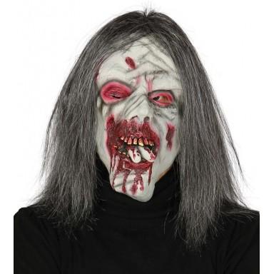 Máscara de zombie terrorífico