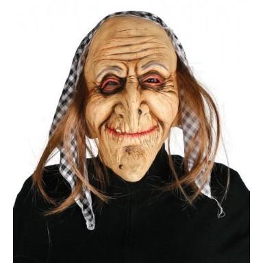 Máscara de bruja sonriente