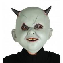 Máscara de niño demonio