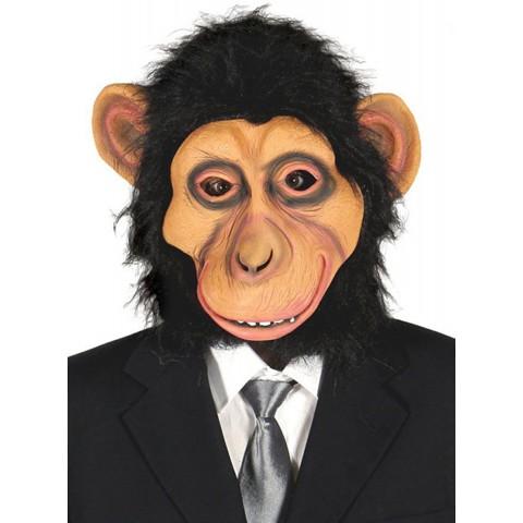 Máscara de chimpancé peludo