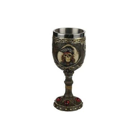 Copa de Poliresina Pirata 1u.