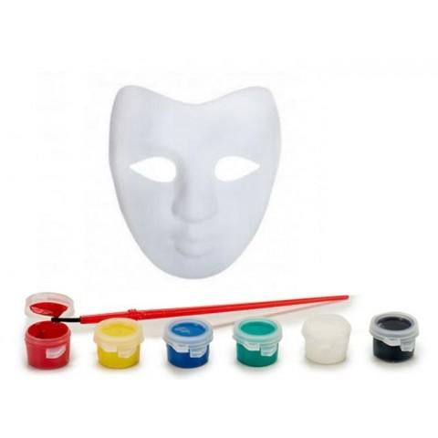 Máscara para colorear con pinturas