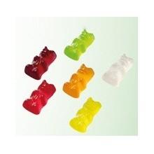 Caramelos de goma para veganos osos brillo 2,5Kg.