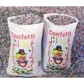 Confeti saco de 10 kg.