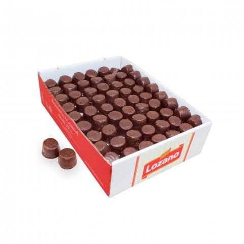 Morenitos a granel de Lozano cubiertos de chocolate caja 3kg.