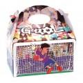 Cajita Cartón para celebraciones Goool 1u.