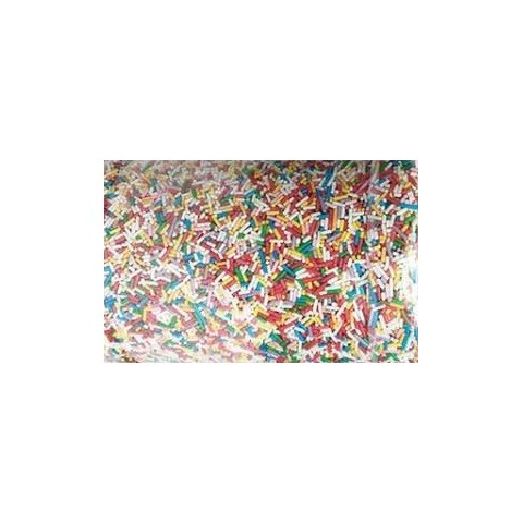 Fideo de azúcar multicolor 1kg.