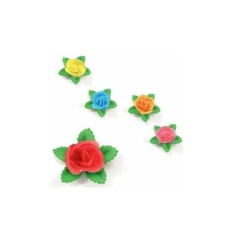 Flores de obleas comestibles 150u.