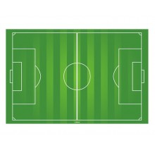 Oblea de campo de futbol 20x30cm.