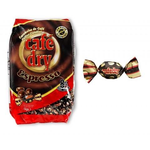 Caramelos Cafe Dry sabor cafe Intervan 1 kg.