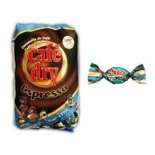 Caramelos Cafe Dry Espresso sin azúcar 1kg.