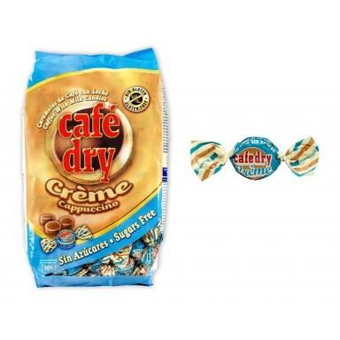 Caramelos Cafe Dry Creme Sin Azucar Intervan 1 kg.