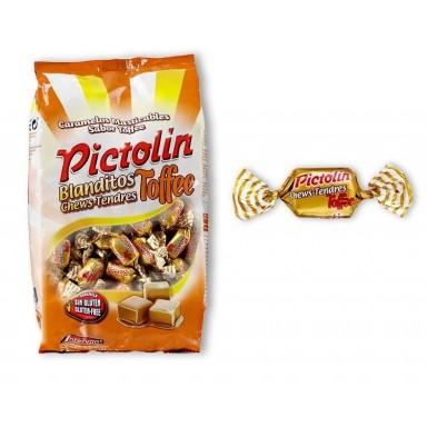 Caramelos Pictolin Intervan Blanditos Toffe bolsa de 1 kg.