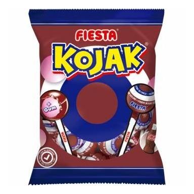 Kojak Fiesta cola relleno de chicle bolsa 7u.