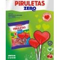 Piruletas Zero Fiesta cereza Bolsa 7u.