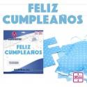 Guirnalda Azul Feliz Cumpleaños