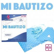 Guirnalda Azul Mi Bautizo