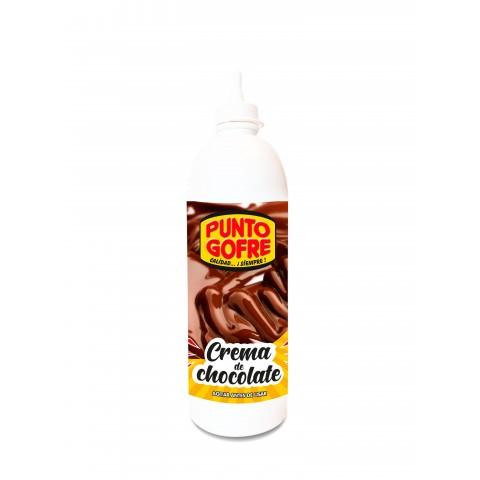 BOTELLA CHOCOLATE PUNTO GOFRE