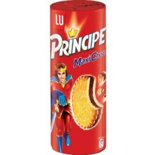 Lu Prince Biscuits stuffed chocolate 20 packets 80g format.