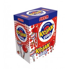Kojak Fiesta sabor cereza Sin Azúcar estuche 50 unidades.