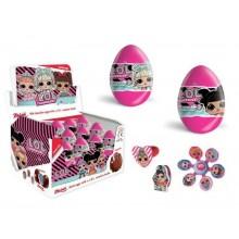 Huevos de chocolate LOL sorpresa 24 unidades.