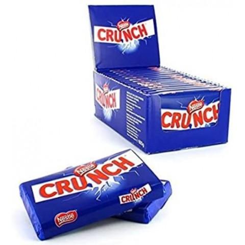 Tabletas de chocolate Crunch con arroz infladode Nestlé de 40 gramos 15 unidades.40