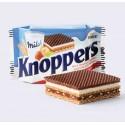 Barquillos Knopper rellenos de crema de leche y avellanas 24u.